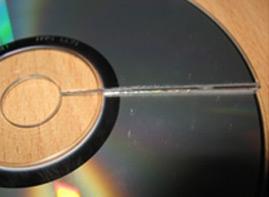 восстановления данных с CD, DVD