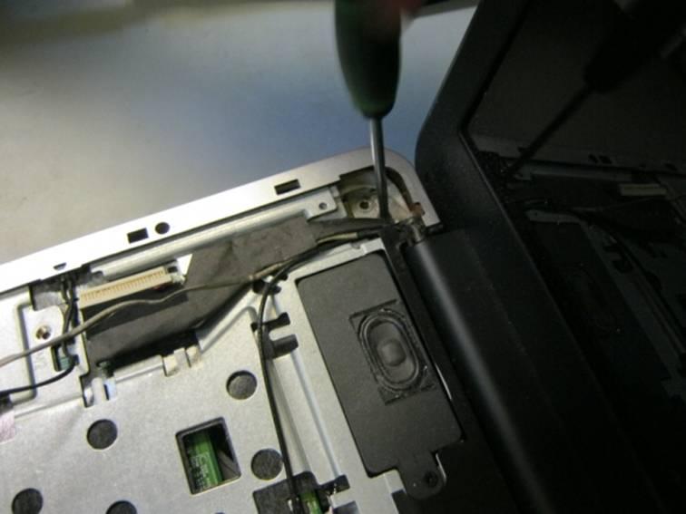 крепление матрицы HP Compaq CQ60