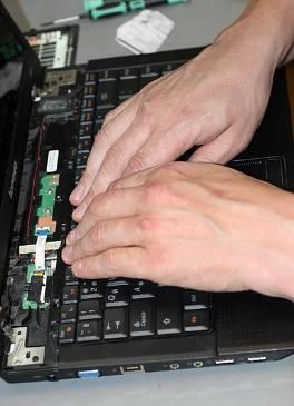 Установка новой клавиатуры