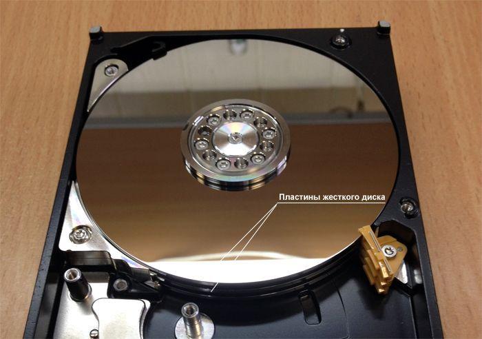 Пластины жесткого диска (HDD)