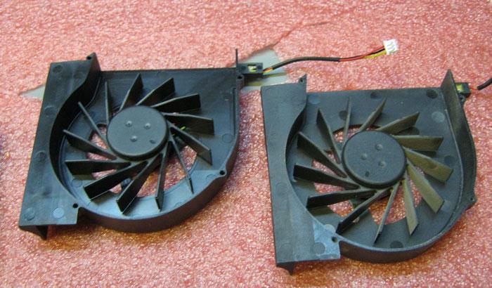 вентилятор старый и новый