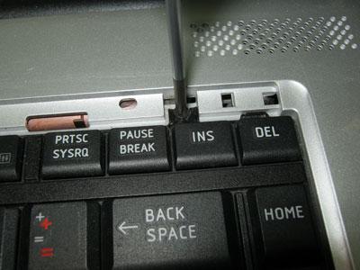 винты удерживающие клавиатуру