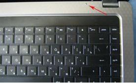 Повреждение верхней панели ноутбука