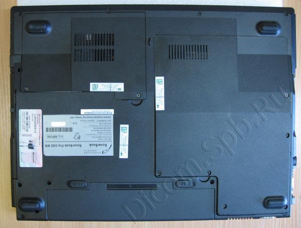 замена батарейки CMOS ноутбука RoverBook Pro 500, Clevo M660JE и т.д.