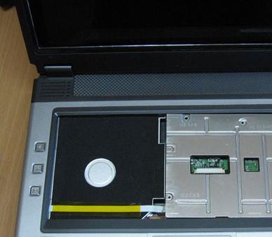 Снятие клавиатуры при самостоятельном ремонте ноутбука