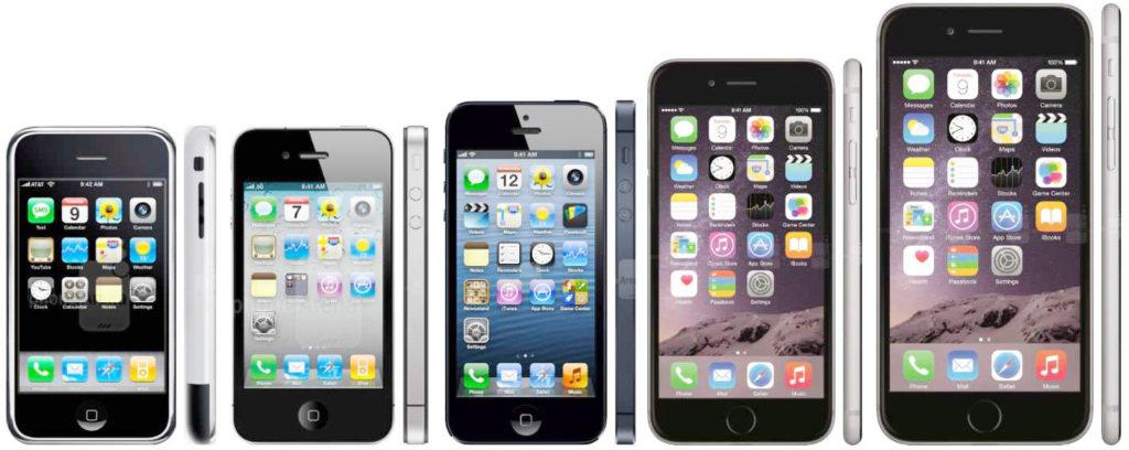 смартфоны Apple - ремонт iPhone