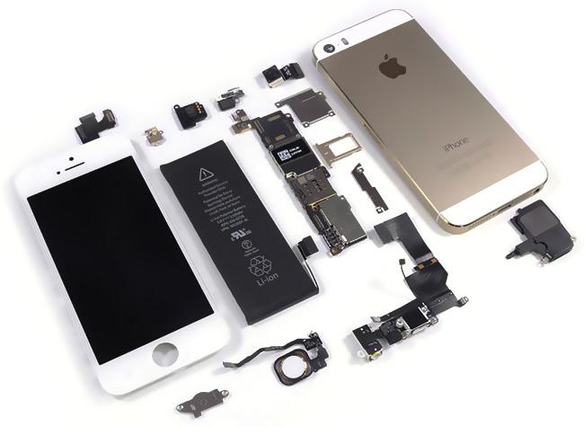 Ремонт смартфона Apple iPhone 5S в Москве