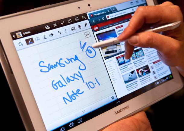 Обзор планшета Samsung Galaxy Note 10.1.