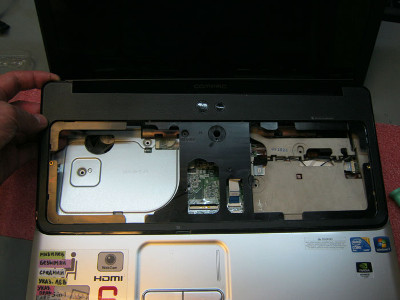 Ремонт системы охлаждения ноутбука HP Compaq Presario CQ61