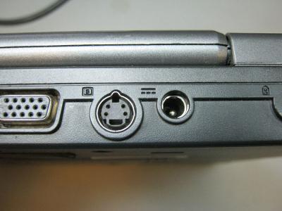 Замена разъема питания ноутбука Fujitsu-Siemens