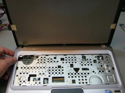 Замена LCD матрицы на ноутбуке HP Pavilion dm4