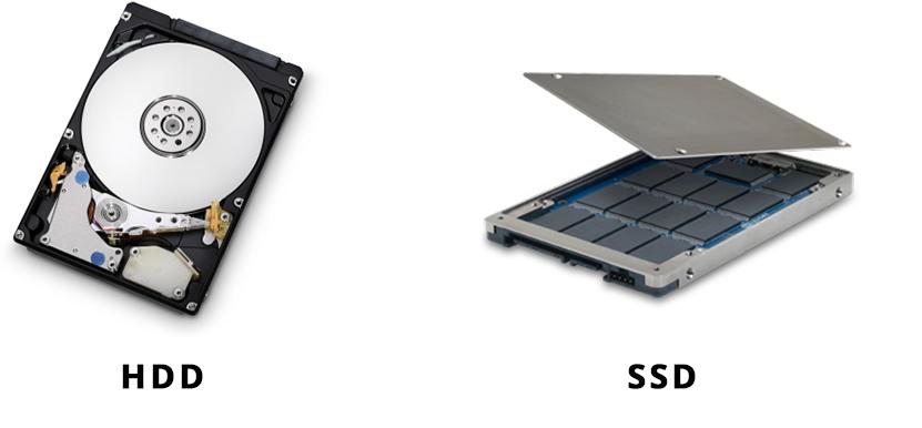 HDD vs SSD. В чем разница?