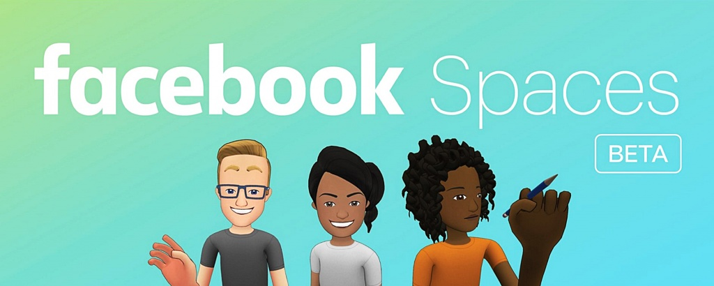 Facebook Spaces, facebook, виртуальная реальность